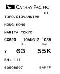 Si lascia Hong Kong e il suo caldo.